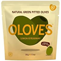 Oloves Juicy Plump Olives Bathing in Lemon and