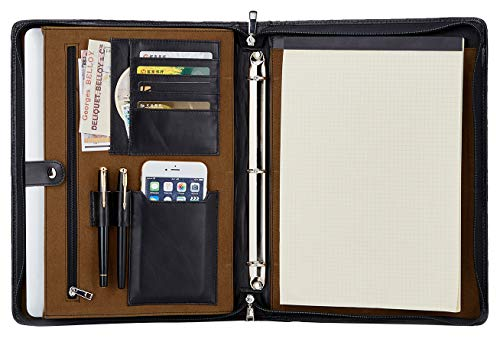 Handmade Padfolio Portfolio Organizer Professional