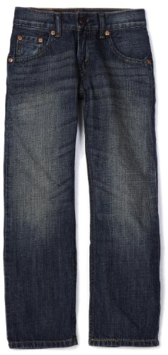 Levi's Boys' 505 Regular Fit Jeans, Roadie, 18 Husky