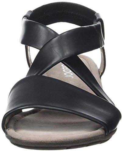 Gabor Scarpe Donna Moda Cinturino Alla Caviglia Sandali Neri (nero 27)
