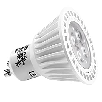 le 6 5w dimmable mr16 gu10 led bulbs 50w halogen bulbs. Black Bedroom Furniture Sets. Home Design Ideas