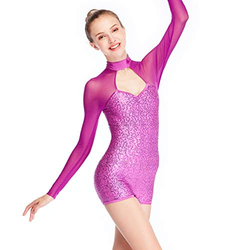Acrobatics Dance Costumes - MiDee Dance Costume Jazz Acro Sequined