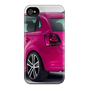 Iphone High Quality Cases/ Volkswagen Polo Worthersee 09 Concept In Pink Color Car RGD1891Rvfs Cases Covers For Iphone 6