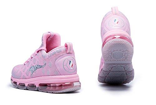 Onemix Running Unisex Cushioning Sneakers Pink Sports Trainers Upper Mesh SRSFnxrUqw