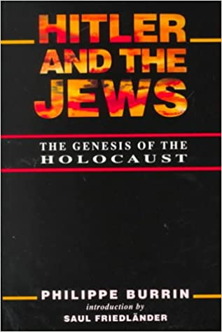 Book Hitler and the Jews: The Genesis of the Holocaust
