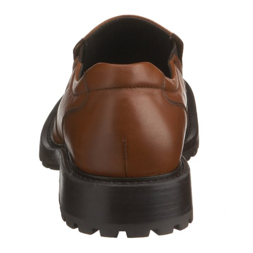 Kenneth Cole Reaktion Mens Skola Blocket Slip-on Choklad Läder