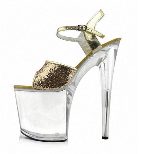 De Accessoires De MNII Robe Stage Nightclub Rose MariéE Party Simple Gold et 38 Hauts beau Performance Fashion The Les Élégant Sandals Talons FéMinins Et Heels 6wAWpqr4w