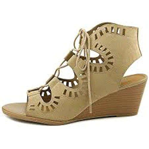 Madeline Open Toe Sandals - MADELINE girl Womens Morning Glory Open Toe Casual Platform, Desert, Size 8.5