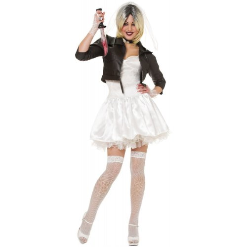 Bride of Chucky Adult Costume (Small 4-6)