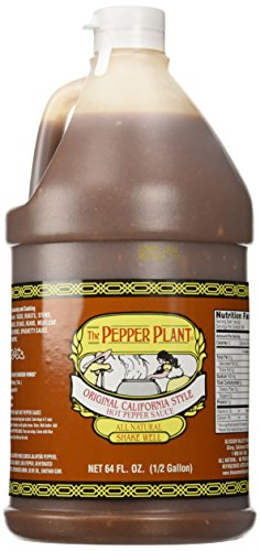 The Pepper Plant Original California Style Hot Sauce 1/2-gallon ()