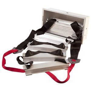 Werner ESC330 Fire Escape Ladder, Three Story by Werner