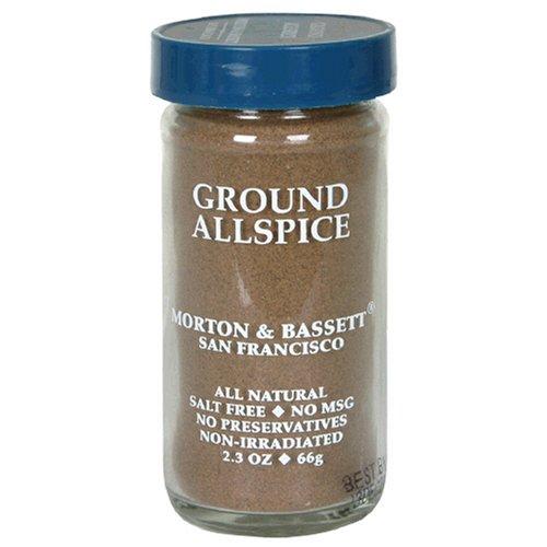Morton & Bassett Ground Allspice, 2.3-Ounce Jars (Pack of 3)