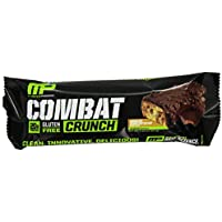 12-Pack Muscle Pharm Combat Crunch Supplement (Chocolate Peanut Butter)