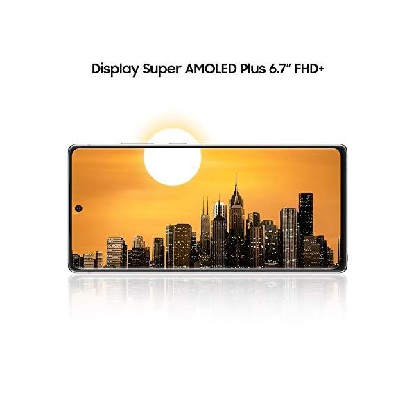 "Samsung Galaxy Note20 Smartphone, Display 6.7"" Super Amoled Plus Fhd+, 3 Fotocamere Posteriori, 256Gb, Ram 8Gb, Batteria 4300 Mah, Dual Sim + Esim, Android 10, Mystic Gray [Versione Italiana] 3"
