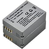 2x NB-10L Battery for Canon NB10L PowerShot SX40 HS SX50 SX60 HS G1X G3X G1 G3 X G15 G16 Digital Camera