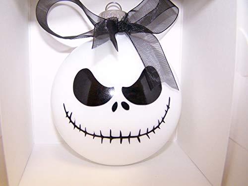 Jack Skellington Ornament with Black Ribbon -