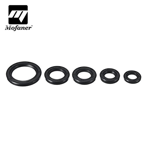 (5PCS/Set Engine Oil Seal Set Kit for Pit Dirt ATV Quad Bike Loncin Lifan 110cc Motorcycle Parts)