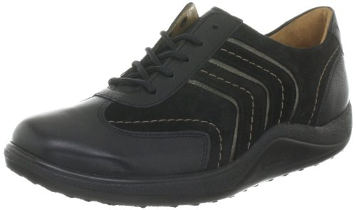 Ganter AKTIV Fee, Weite F 4-200591-01650 - Zapatos casual para mujer Negro