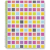 """Blue Sky Today's Teacher """"Squares"""" Create Your Own Cover Academic Year 16/17 Weekly/Monthly 8.5 x 11 Planner"""
