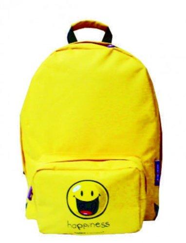 Rucksack Smiley Happy Colors - gelb