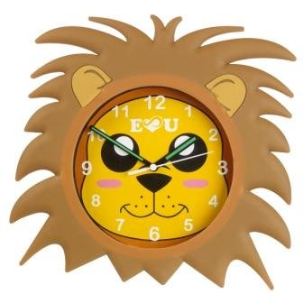 Fantasy Fields - Sunny Safari Animals themed Kids Wall Clock Best for Nursery Room Decor | Hand