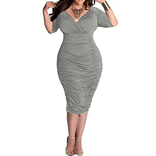 Grey Plus Size Party Dress Amazon