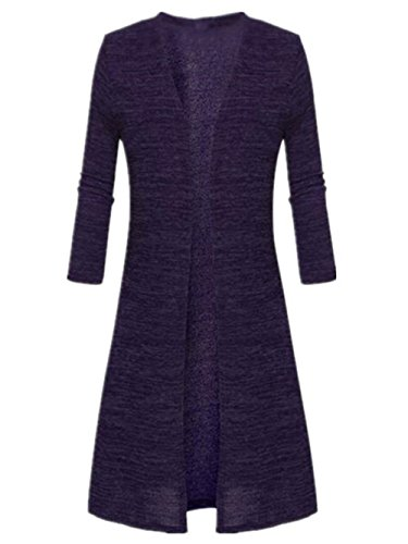 Pull Long over El Chaud Pull Cardigan Femme Mode AILIENT Longues Manches ZAH8qwx5