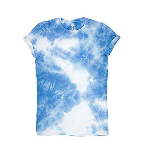 Cloudy Day Tie Dye Unisex T-Shirt Pattern Shirt short Sleeve Plus Size S, M, L, XL, XXL, XXXL -