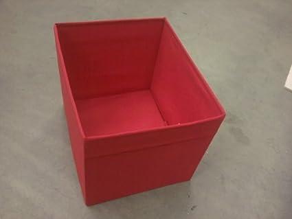 Ikea Caja Dröna, Rojo, 33 x 38 x 33 cm, para Expedit estanterías