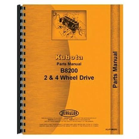 41XZKqfDnsL._SX466_ amazon com parts manual ku p b8200 kubota b8200 garden & outdoor