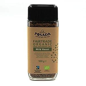 La Posada Mild Roast, Caffè solubile 100% Arabica, confezione da 3 x 100 g