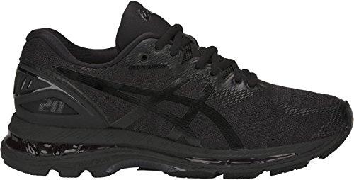 ASICS Women's Gel-Nimbus 20 Running Shoe, black/black/carbon, 8.5 Medium US