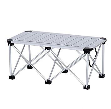 Mccoutdoor Zusammenklappbar Tisch Faltbarer Notebook Aus Aluminium Grill  Tisch Und Stühle Für Tisch Picknick Stärken