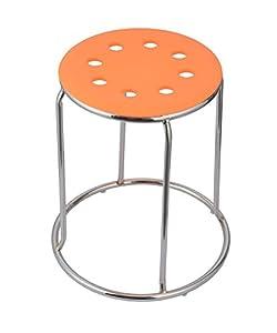 Da URBAN DISC Stack Stool (Orange) (Set of 5)