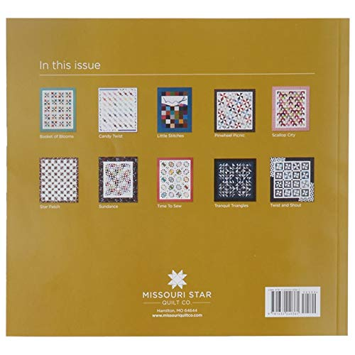(Missouri Star Block Quilt Magazine~Early Winter 2018 Vol 5#6)