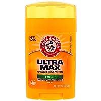 Arm & Hammer, UltraMax, Antiperspirant Solid Deodorant, FRESH, 1.0 oz (28 g)