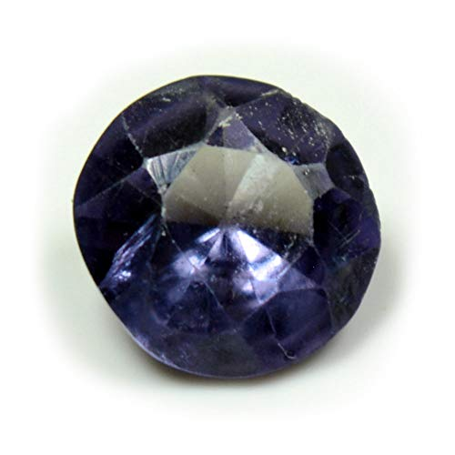 Jewelryonclick Alexandrite 3 CT for Jewelry Making Faceted Multicolor Round Shape Stone at Wholesale Rate