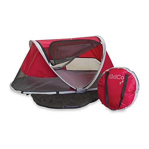 KidCo PeaPod Infant Travel Bed in Cranberry by KidCo