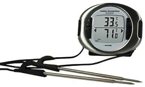 Heston Blumenthal Precision - Termómetro y minutero digital para horno (con doble sonda)