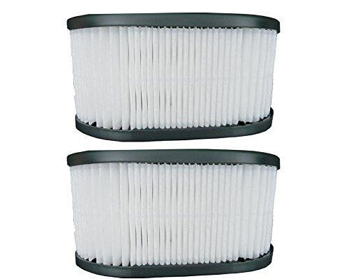 EnviroCare 2 Hoover 43615090 Vacuum Dust Cup Cartridge HEPA Filters ()