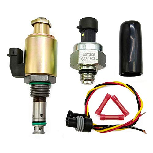 Triumilynn Fuel Injection Pressure Regulator IPR Valve + ICP Control Sensor Fits Ford F250 F350 F450 F550 F650 F750 E350 E450 E550 Part NO. 1829856C91 1841217C91
