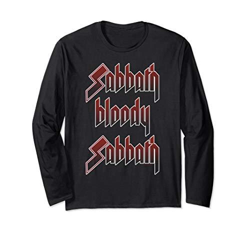 Black Sabbath Official Bloody Sabbath Long Sleeve Shirt