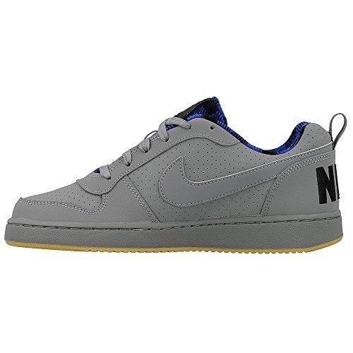 Nike 859343-001, Zapatillas de Deporte Para Niños Gris (Cool Grey / Black / Hyper Cobalt)