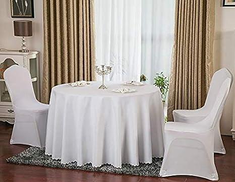 White Arch SINSSOWL Housse de Chaise Spandex Lycra Slipcover pour Mariage Banquet Anniversaire D/écoration de f/ête Lot de 10