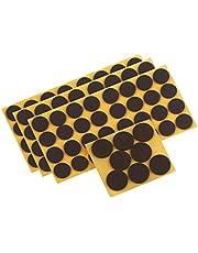 Metafranc assortiment vilten glijders 104-delig - zelfklevend - effectieve bescherming van uw meubels en stoelen/meubelglijders voor gevoelige vloeren/stoelglijders/vloerglijders