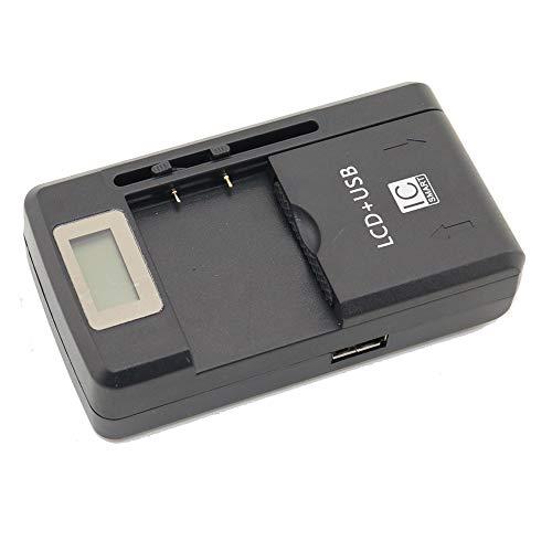 Apirit 4.2V Universal Wall Travel Charger for Cell Phone PDA Camera Li-ion Battery; Nokia BP-4L E52 E55 E61i E63 E71 E71x; Mobile Cell Phone Li-ion Battery (E71x Phone)