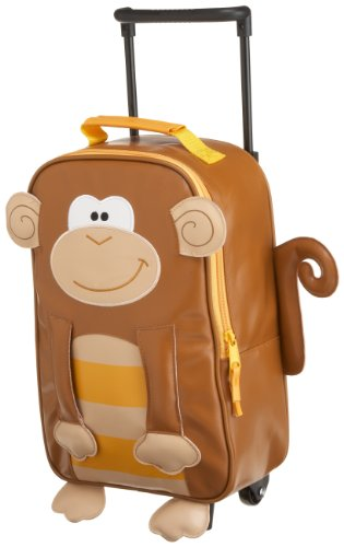 Stephen Joseph Rolling Backpack, Monkey