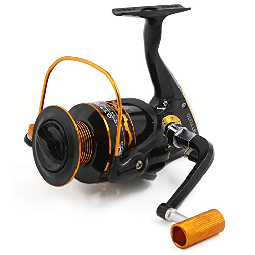 uxcell 11BB Ball Bearings 5.2:1 Spinning Reels Freshwater Saltwater Left/Right Fishing Reel