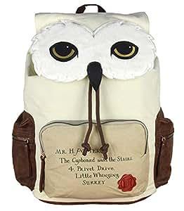 Harry Potter Backpack Hedwig Owl Hogwarts Letter Laptop Rucksack