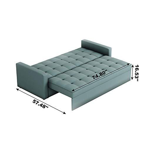 Amazon.com: Momei - Sofá cama convertible de almacenamiento ...